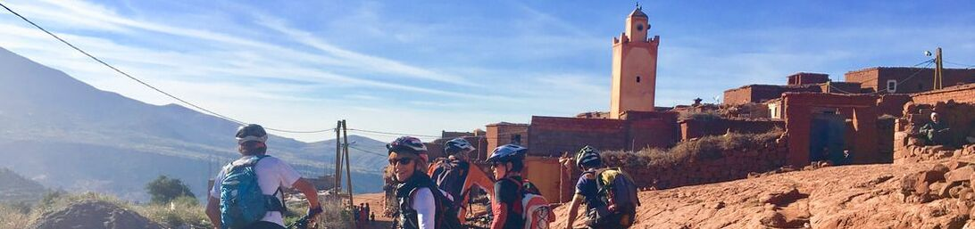 Biking trip in Morocco